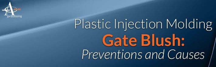 Plastic Injection Molding Gate Blush: Causes and Prevention